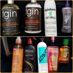5 Must-Have Ingredients For Flat Ironing Natural Hair | Black Girl with Long Hair