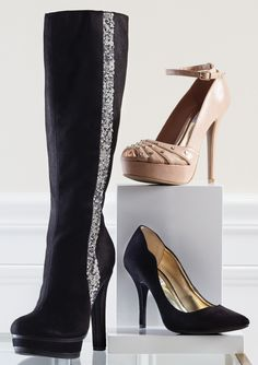 These J.Lo shoes at Kohls..I have tried on and love the boots and nude shoes!