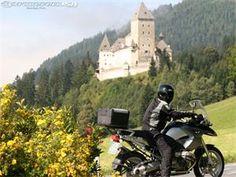 Motorcycle across Europe