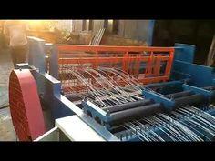 2 6mm semi automatic crimped wiremesh machine Machine Video