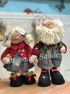 Christmas Fabric, Christmas Art, Christmas And New Year, Christmas Holidays, Christmas Decorations, Country Christmas, Tis The Season, Fabric Decor, Beautiful Dolls