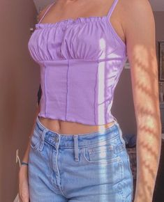 Purple Outfits, Mom Outfits, Teen Fashion Outfits, Cute Casual Outfits, Girl Fashion, Summer Outfits, Fashion Jobs, Men Fashion, Trendy Fashion