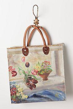 still life handbag