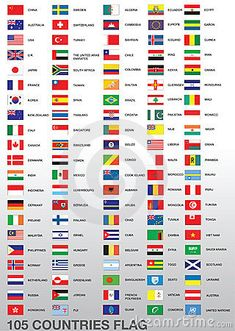 different country flag