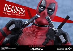 Oh yeah! Hot Toys Deadpool Sixth Scale Figure.