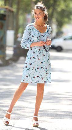 Imprimé Bleu - autres - Femme - 3Suisses. Robe tunique manches 3 4 imprimée femme  Exclusivité ... ab244edaac8