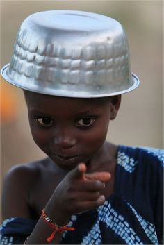 Africa |  A Bédik child photographed in Senegal |  By Claude Gourlay, via Flickr