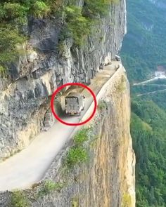 Guoliang Road Tunnel - China Please DM for credit . Life Is An Adventure, Adventure Travel, Adventure Time, Places To Travel, Places To Visit, Dangerous Roads, Beach Hacks, Mekka, China Travel