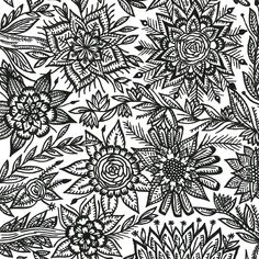 Botanical Line Art Drawing composition  #botanical #line #art #drawing #learn #flowers #leaves #plants #bw Doodle Art Drawing, Art Drawings Sketches, Fantasy Craft, Deviantart Drawings, Cactus Drawing, Beautiful Sketches, Step By Step Drawing, Line Art, Composition