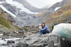 Byron Glacier Trailhead // via @fromthestates)