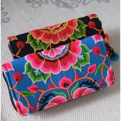 Embroidered Hmong Tribe Wallet