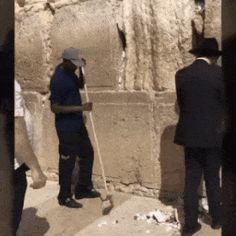 Meanwhile at the Wailing Wall