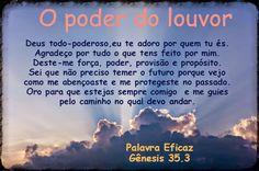 Promessas para hoje: O poder do louvor- Gênesis 35.3