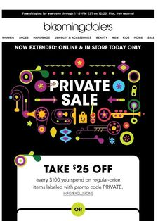 04c99ceee Private Sale just extended  One more day to shop! - Bloomingdales UK One  More