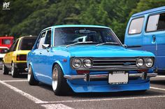 Nissan 510 Blue bird