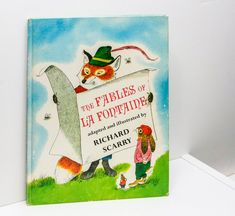 """Richard Scarry Book """"The Fables of La Fontaine"""" 1963 First Edition Hardcover Richard Scarry, Children's Books, Handmade Gifts, Illustration, Etsy, Art, Kid Craft Gifts, Art Background, Craft Gifts"""