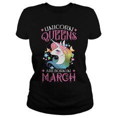 Unicorn Queens Are Born In March