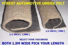 10×1m Van Insulation Liner Thermal Acoustic Sound Proofing Car Van VW T5 7mm