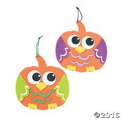 Pumpkin Owl Sign Craft Kit