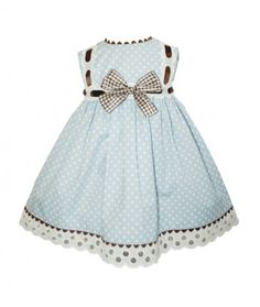 Miss Clementina Blue Dress