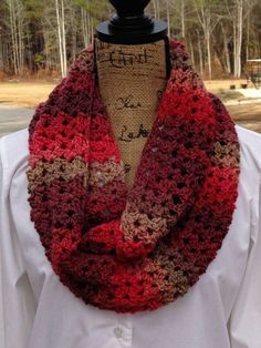 Sunset Scarf by ELK Studio - A FREE Crochet Scarf Pattern #crochet #freepattern…