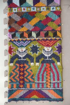 Ravelry: Foolish Virgins Scarf pattern by Kaffe Fassett Beginner Knitting Patterns, Knitting Stiches, Knitting Designs, Knitting Projects, Hand Knitting, Crochet Patterns, Form Crochet, Knit Crochet, Knit Mittens