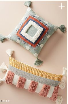 Buy the Tufted Rayas Pillow and more anthropology from Anthropologie today. - Healthy Skin Care : Buy the Tufted Rayas Pillow and more anthropology from Anthropologie today. Couture Main, Accent Pillows, Throw Pillows, Pink Pillows, Boho Pillows, Couch Pillows, Cushions, Earthy Style, Punch Needle Patterns