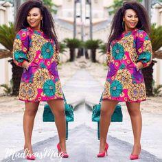50 tenues en pagne pour hommes femmes et enfants African Dresses For Women, African Print Dresses, African Print Fashion, Africa Fashion, African Attire, African Wear, African Fashion Dresses, African Women, Ankara Fashion