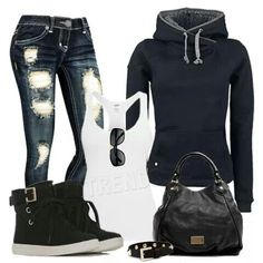 Love the casual look!