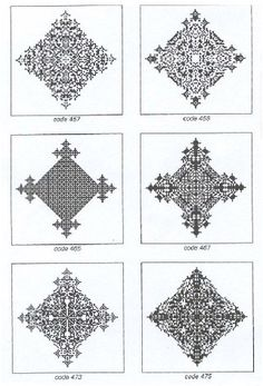 Cellular automata generated by simple rules with the appearance of Ethiopian crosses. From A New Science by S. Wolfram