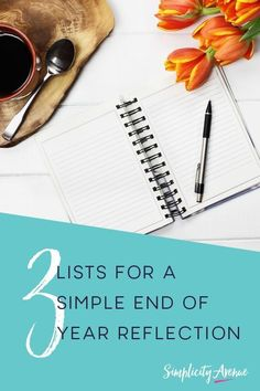 How to hold a short and sweet end of year reflection with 3 simple lists - so you can head into the new year with bold moves forward and upward! Self Development, Personal Development, Year End Reflection, Reflection Questions, Journal Prompts, Journals, Self Acceptance, End Of Year, Organize Your Life