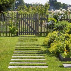 Discover recipes, home ideas, style inspiration and other ideas to try. Garden Paving, Garden Trellis, Garden Paths, Garden Cottage, Home And Garden, Country Fences, Garden Solutions, Garden Design Plans, Garden Projects