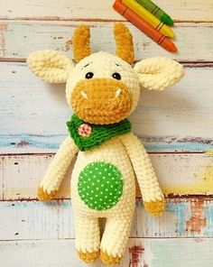 PDF Bull-calf Crumb. A free master class, the scheme and the description for knitting of a toy of an amiguruma a hook. FREE amigurumi pattern. #амигуруми #amigurumi of #схема #описание of #мк #pattern of #вязание #crochet of #knitting #toy of #handmade #рукоделие of #бык #бычок of #корова #коровка of #bull #cow