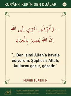 Learn Turkish Language, Prayer For The Day, Good Sentences, Allah, Life Sentence, Sufi, Islamic Quotes, Quran, Prayers