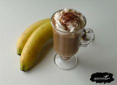 Kawa bananowa « 2DRINK.PL Nigella, Whipped Cream, Mason Jars, Mugs, Coffee, Tableware, Fit, Kaffee, Dinnerware