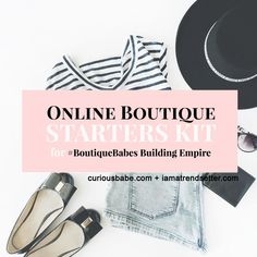 Products — Curious Babe Starting An Online Boutique, Know What You Want, Starter Kit, Diy Kits, Online Boutiques, Clothes For Sale, Boutique Clothing, Product Launch, Babe