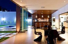 30 Áreas de churrasco/gourmet integradas à casa - veja modelos modernos + dicas! - DecorSalteado