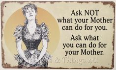Do for Mother 10x6 Tin Sign Funny Mom Housework Laundry Kitchen Chore Dishes OHW | eBay