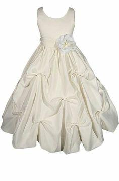 Amazon.com: AMJ Dresses Inc Girls 2 to 10 Flower Girl Communion Easter Dress (10 Colors): Clothing
