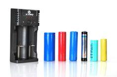 Xtar VP2 Li-Ion akkumulátor töltő többféle akkumulátor töltésére használható.