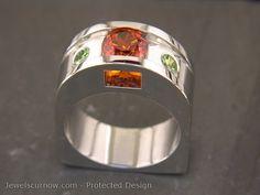 Kassandra Ring ~ Jewels Curnow. Gorgeous Metal Jewelry, Metal Art, Wearable Art, Portland, Jewelery, Jewelry Making, Pure Products, Rings, Creative