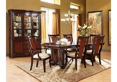 Shop for a Granby 5 Pc Double Pedestal Diningroom at Rooms To Go. Find Dining Room Sets that will look great in your home and complement the rest of your furniture.