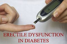 Erectile Dysfunction and Diabetes - KEEPHEALTHYALWAYS.COM - Reliable Health Advice and Remedies