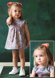 Baby Girl Frocks, Frocks For Girls, Smocked Dresses, Kids Boutique, Smock Dress, Baby Outfits, Kids Wear, Smocking, Doll Clothes