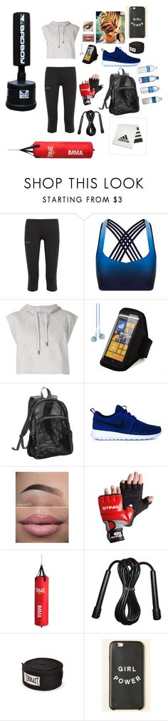 """""""Untitled #648"""" by misswinters ❤ liked on Polyvore featuring Falke, adidas, Nokia, NIKE and Everlast"""