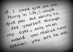 It's true! I wish you could see.