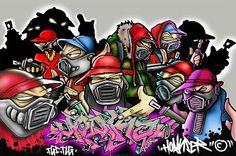 blogAuriMartini: A história da Arte em Graffite