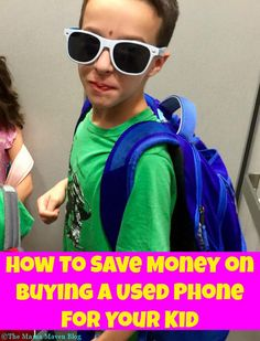 How To Save Money on Buying A Used #iPhone for Your Kid #AD gazelle.com #BuySmarter