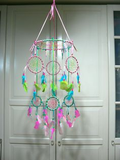 Dream Catcher Mobile via Etsy.