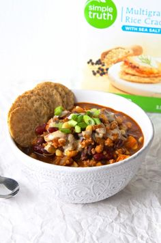Gearing up for the last bit of winter and prepping ahead for Superbowl Sunday. Everyone needs a go-to chili recipe, it's perfect for cleaning out the pantry/freezer and making an affordable m…